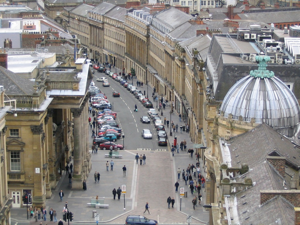 Newcastle's Grey Street