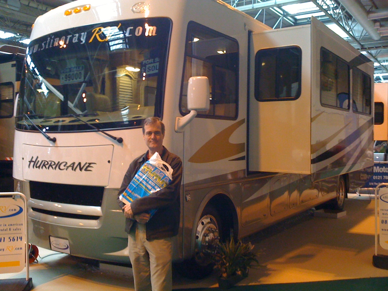 The Motorhome Show - big can sometimes be too big