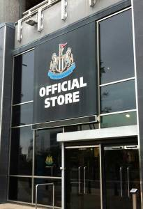 Newcastle Utd shop
