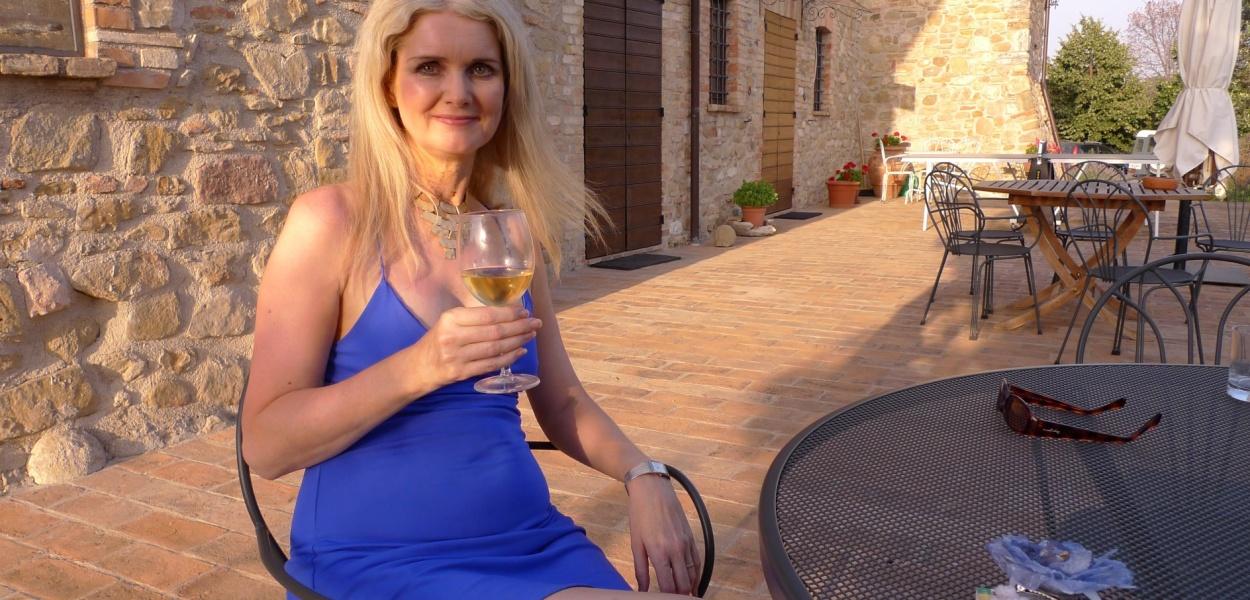 Tammy in Umbria