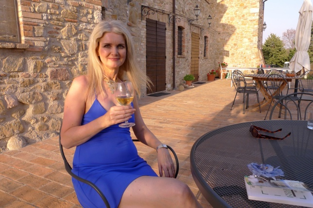 Tammy in Umbria
