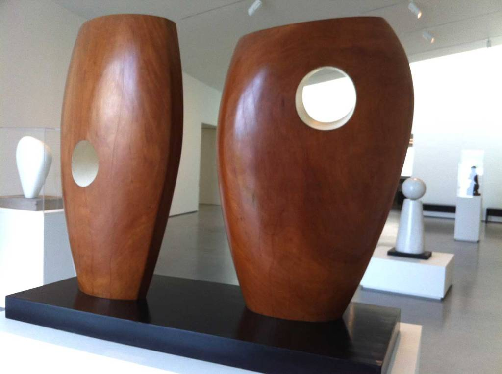 Hepworth sculpture