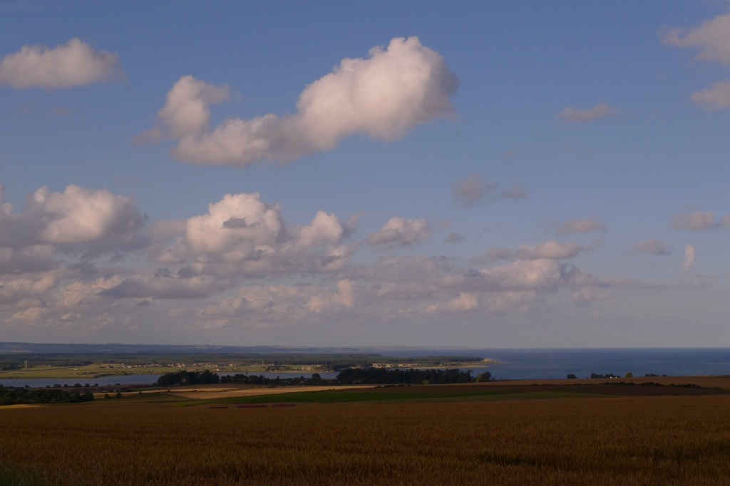Looking back over St Andrews