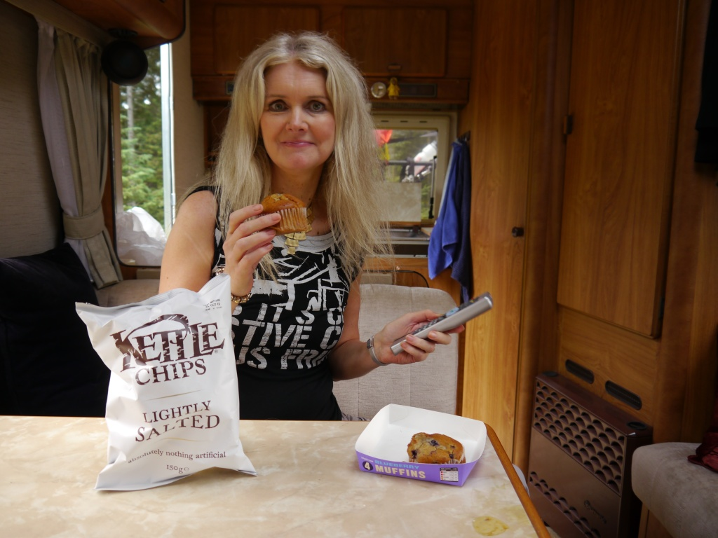 Tammy with cake