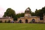 Wallington - the courtyard