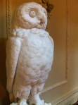 Wallington owl statue
