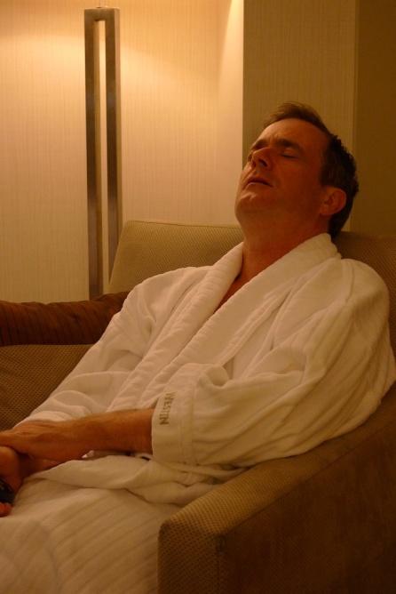 Tony at the Boston Westin Hotel