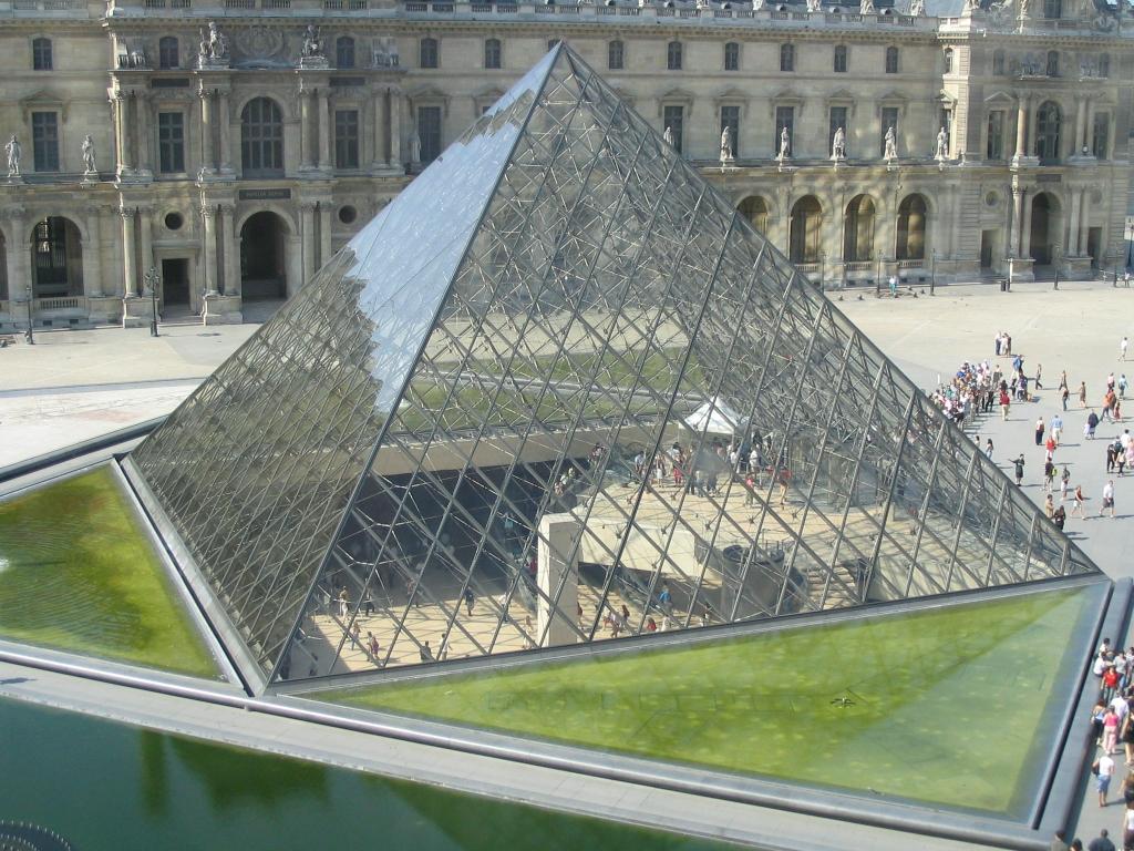 Pyramid, Louvre