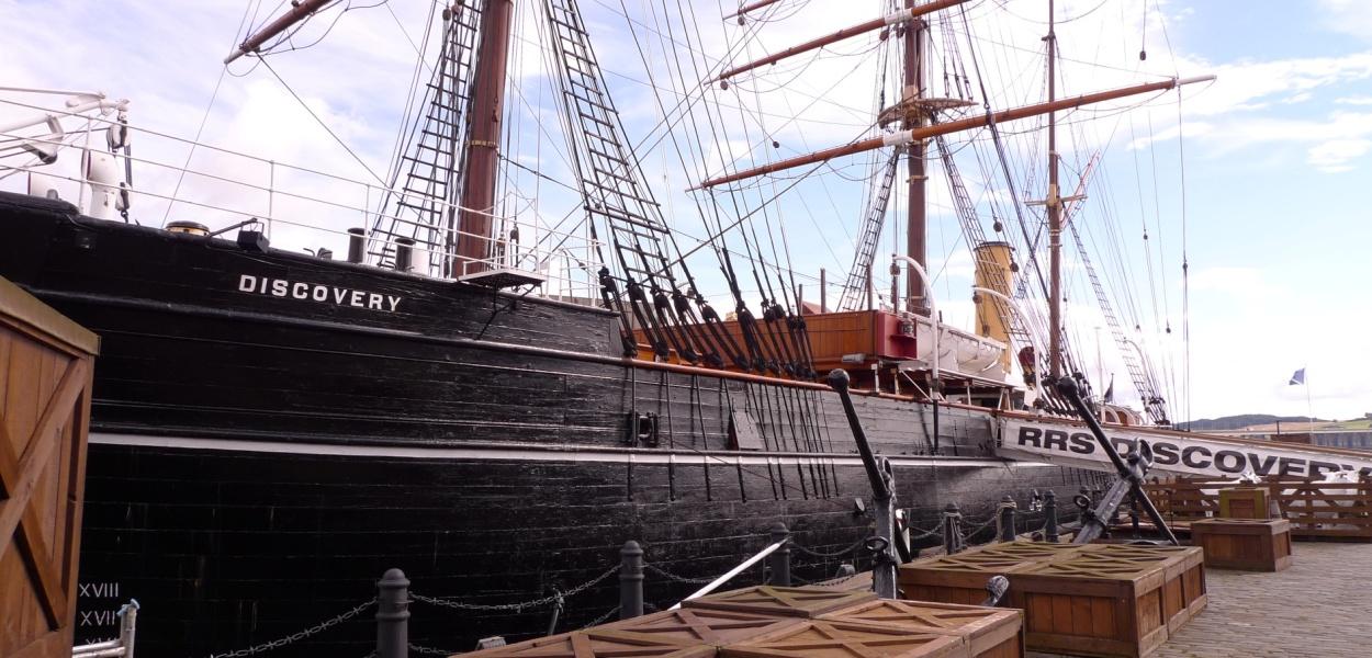 RRS Discovery - Scott's Antarctic trip 1901-1904