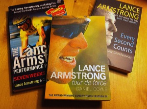 Lance Armstrong books