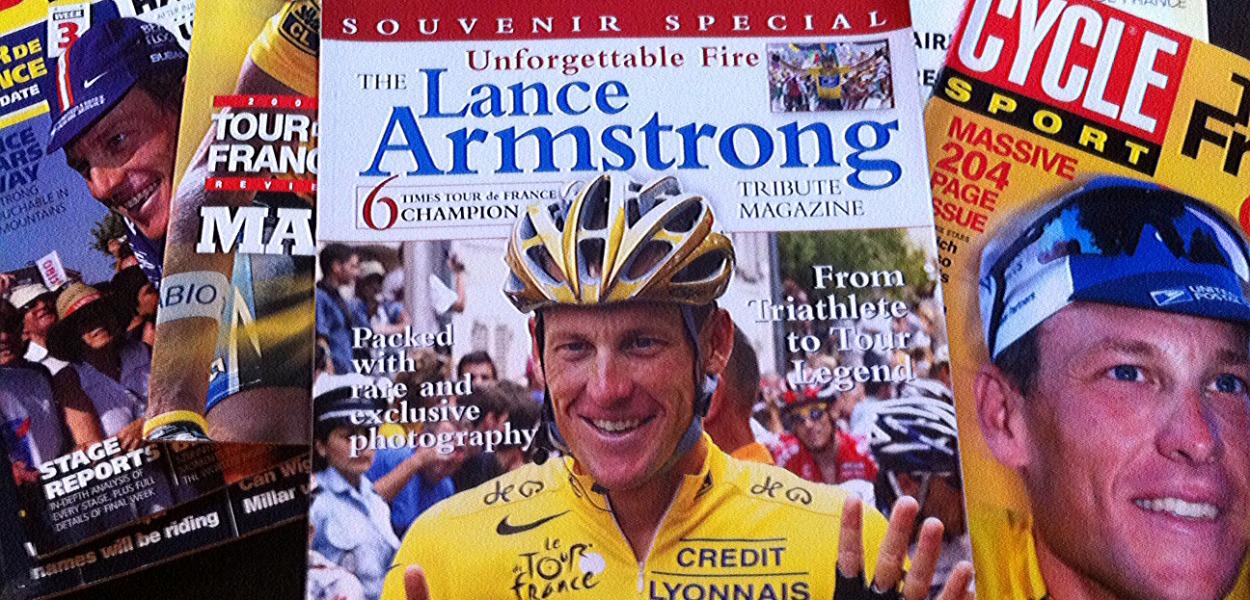Lance Armstrong memorabilia