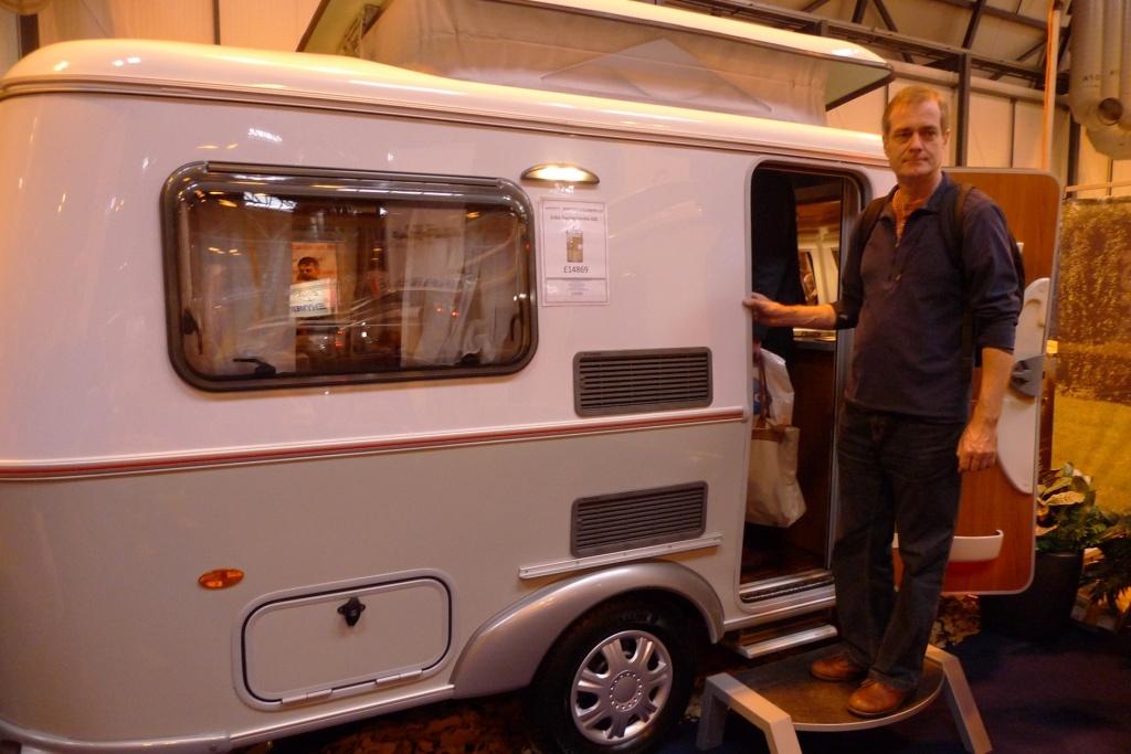 Tony and caravan