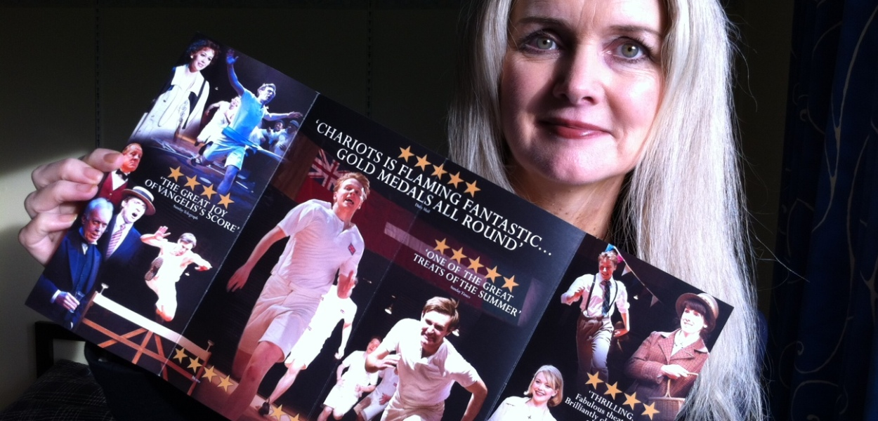 Tammy at Chariots of Fire play