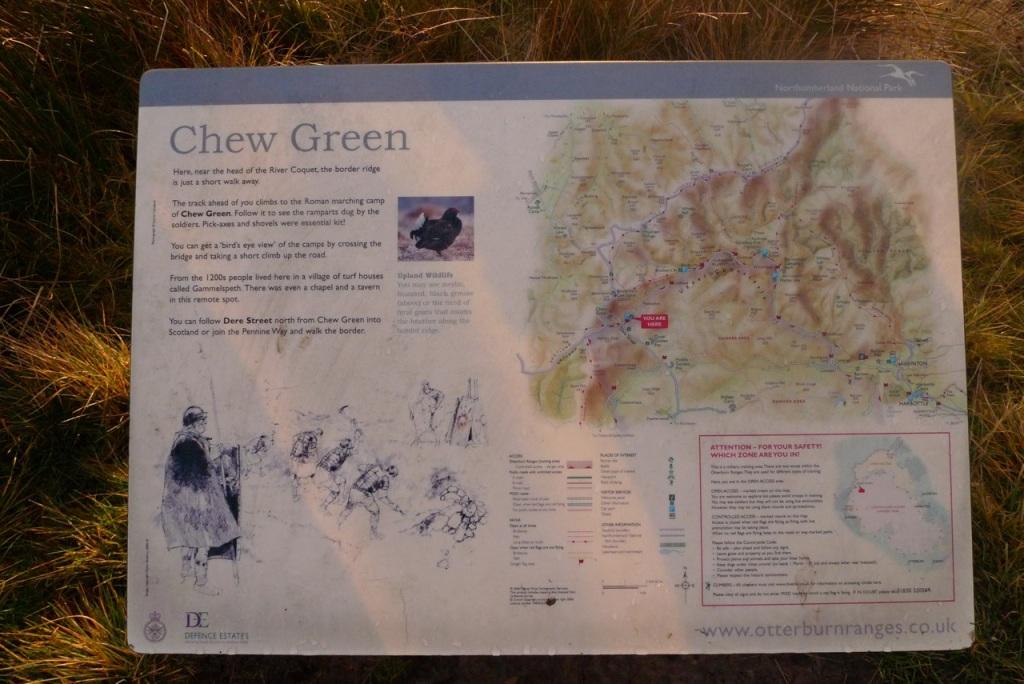 Chew Green board