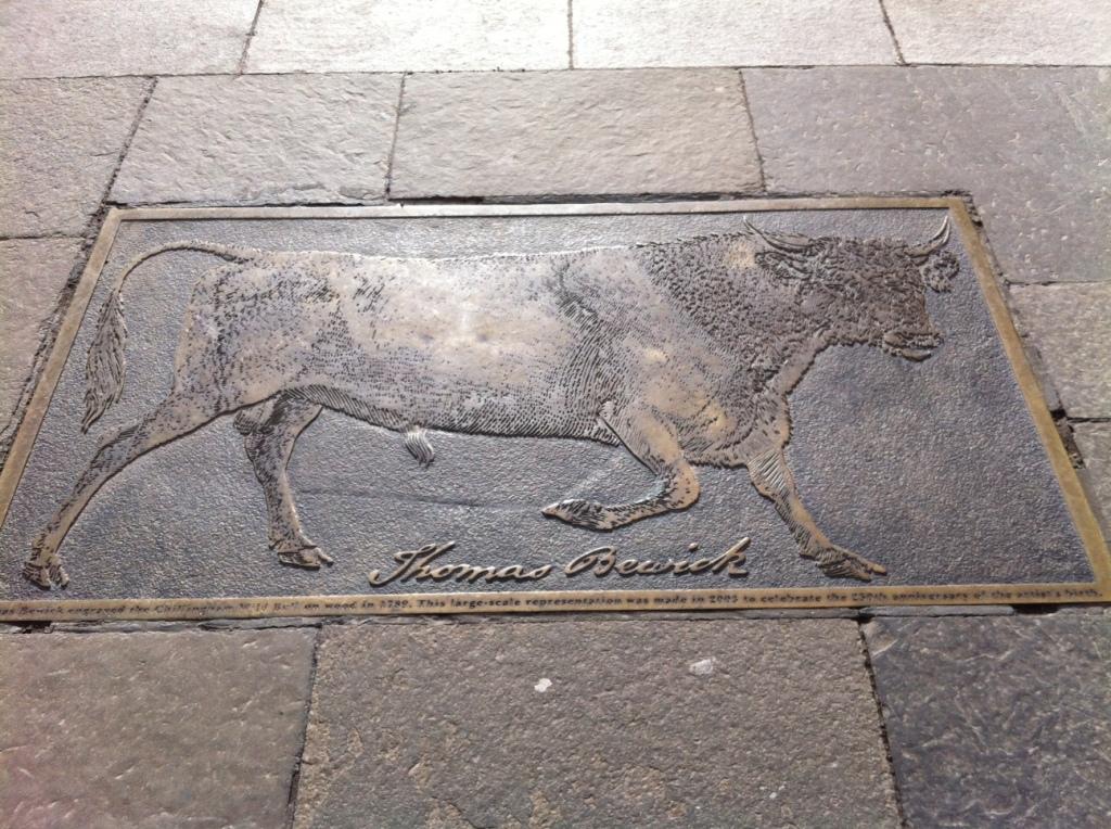 Bewick pavement