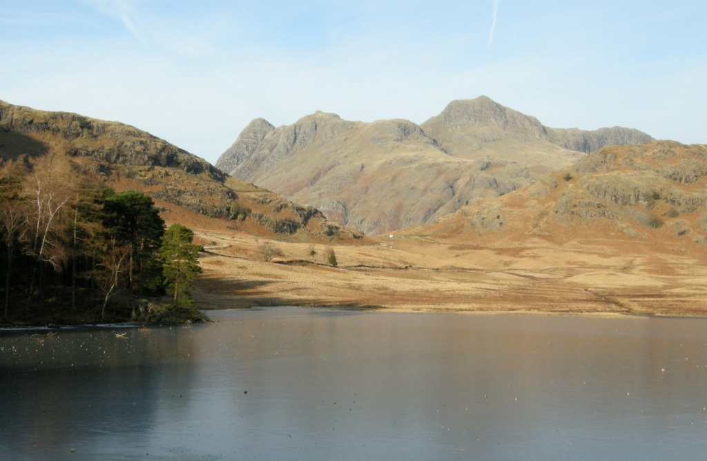 First winter trip in the van - Blea Tarn