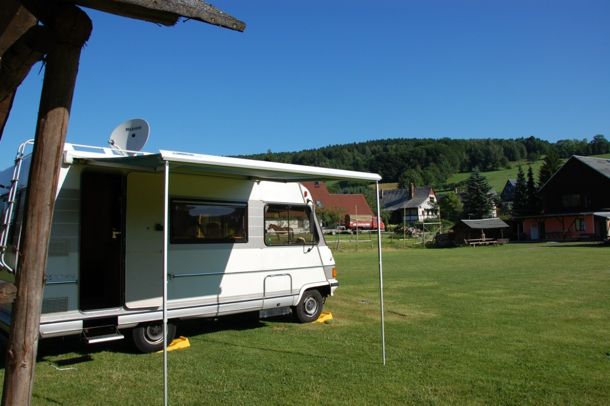 Camper van in Germany
