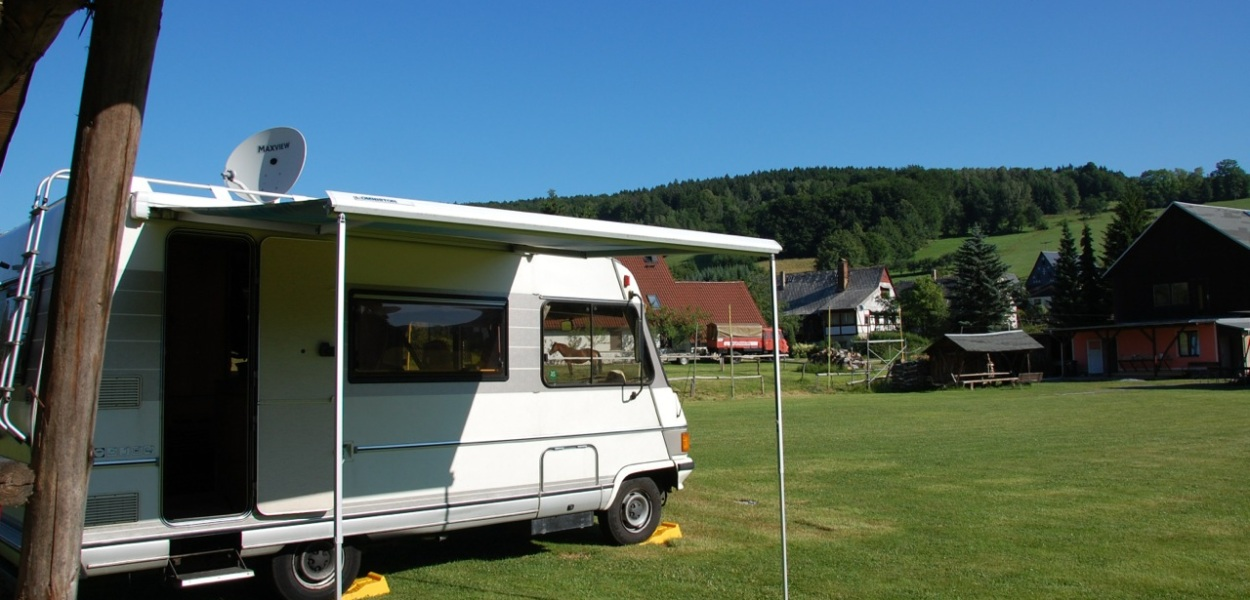 Camper van in Germany