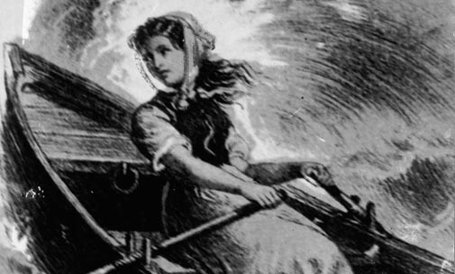 Grace Darling's heroic rescue mission