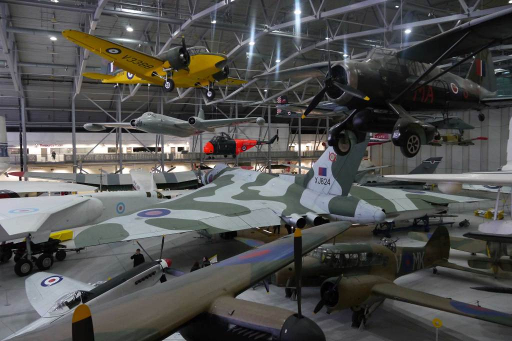 Airspace at Duxford