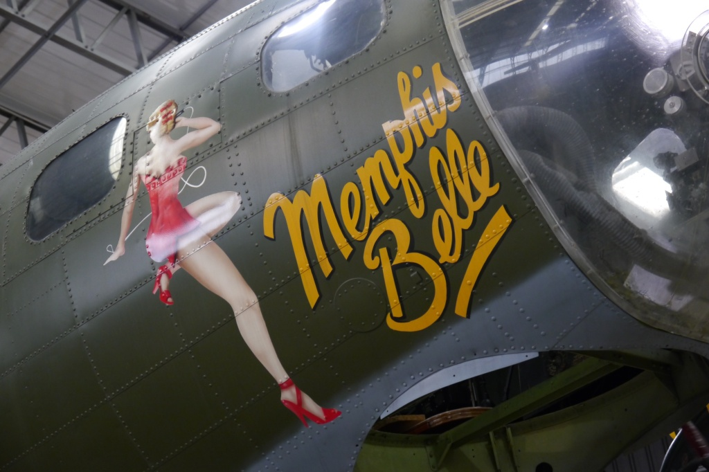The Memphis Belle plane