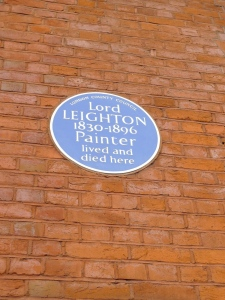 Leighton plaque