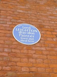 Leighton plaque