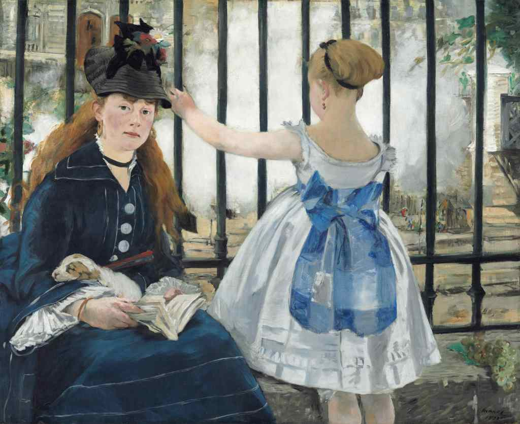The Railway by Manet