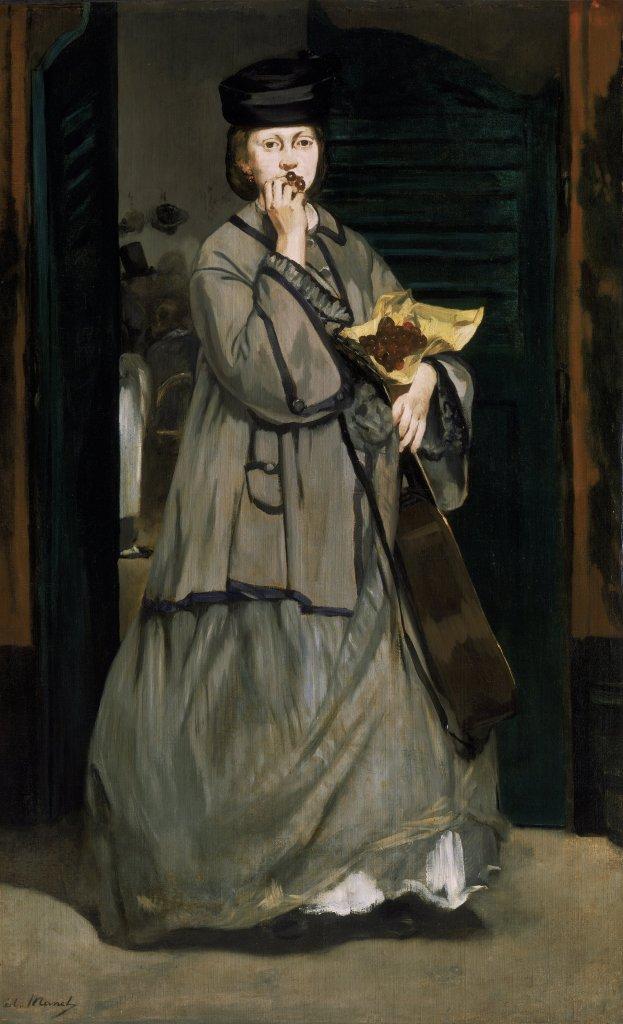 Manet's Street Singer