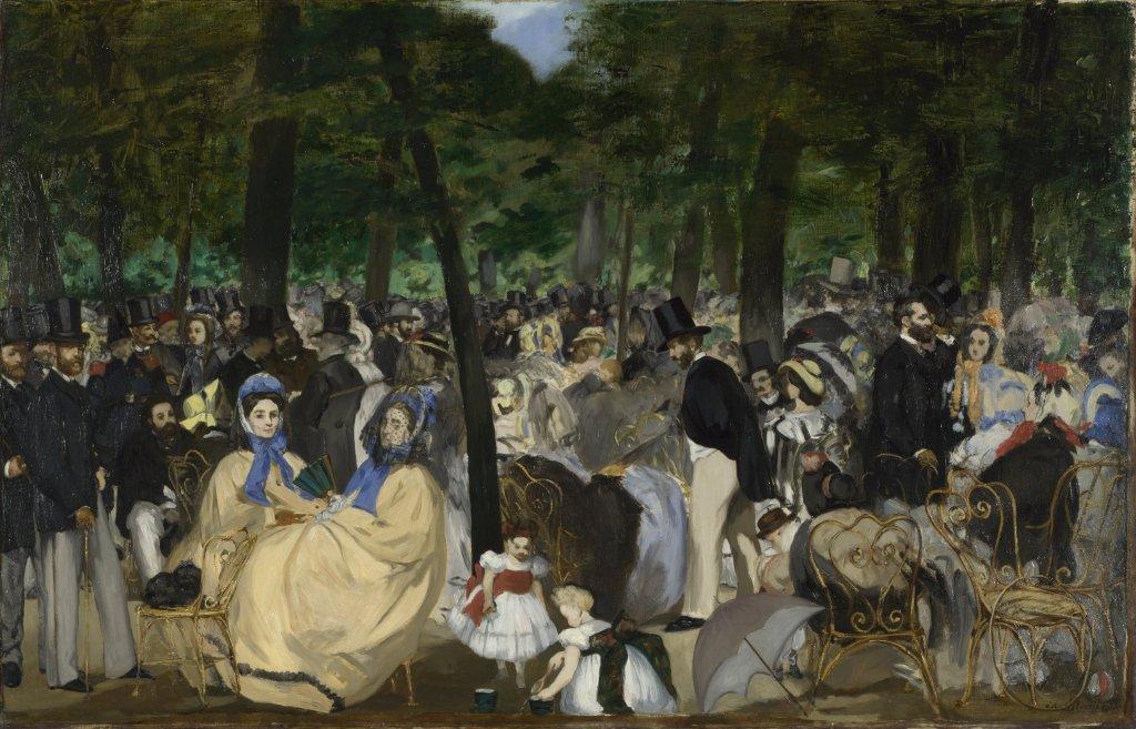 Manet's Tuileries Garden