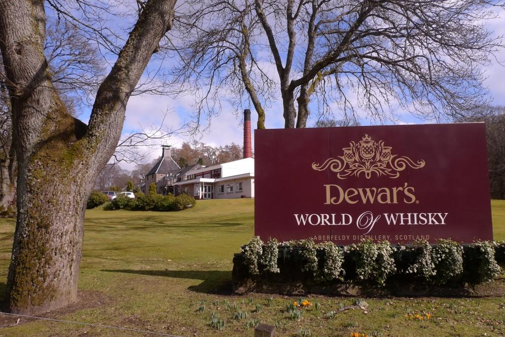 Dewar's distillery