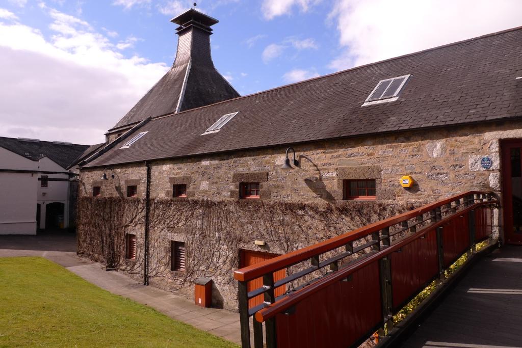 Dewar distillery