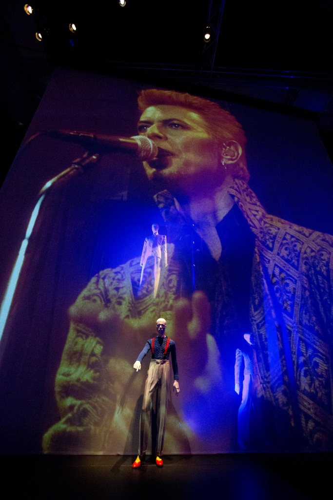 Stage with Bowie