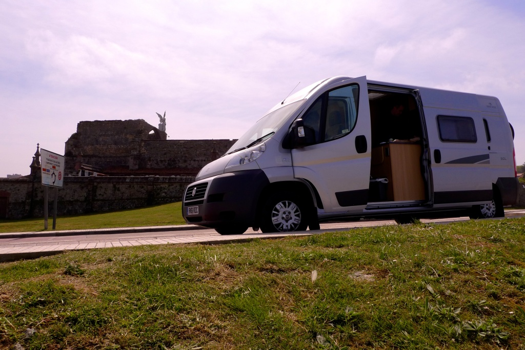 Van in Comillas