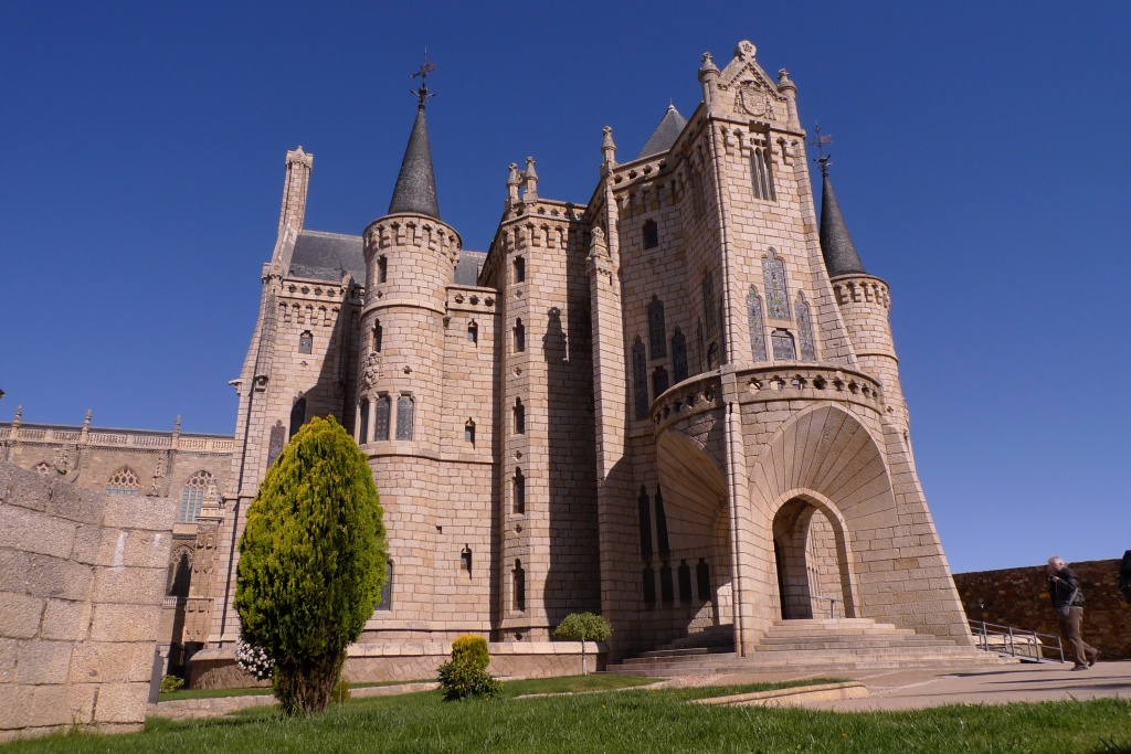 Gaudi Palace of the Bishops in Astorga