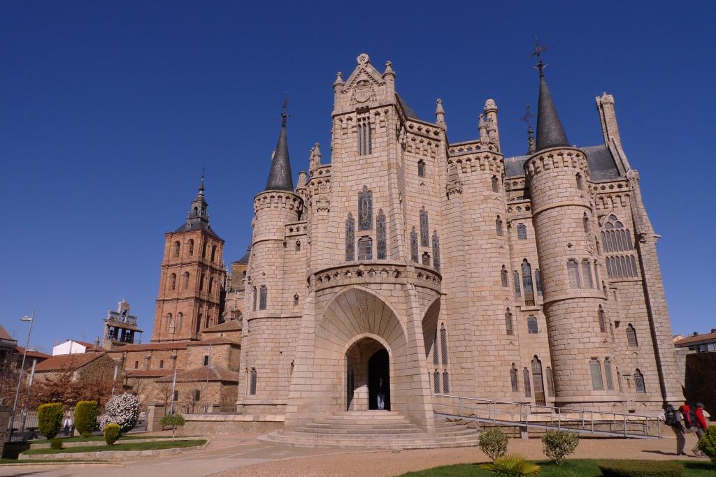 Gaudi Palace of the Bishops in Astorga