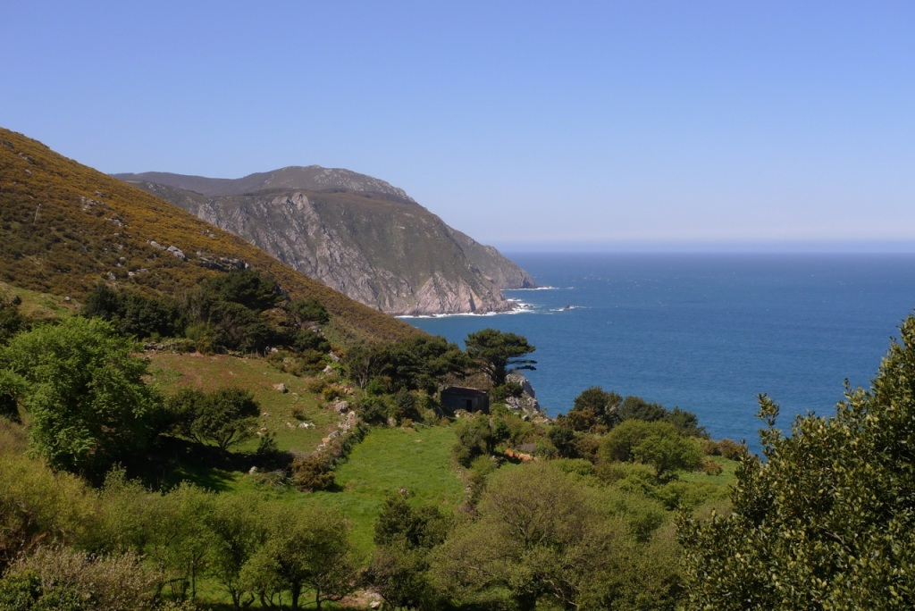 Northern Spain's verdant coastline