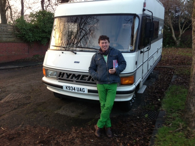 The Hymer van