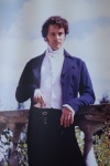 Belsay poster of Mr Darcy