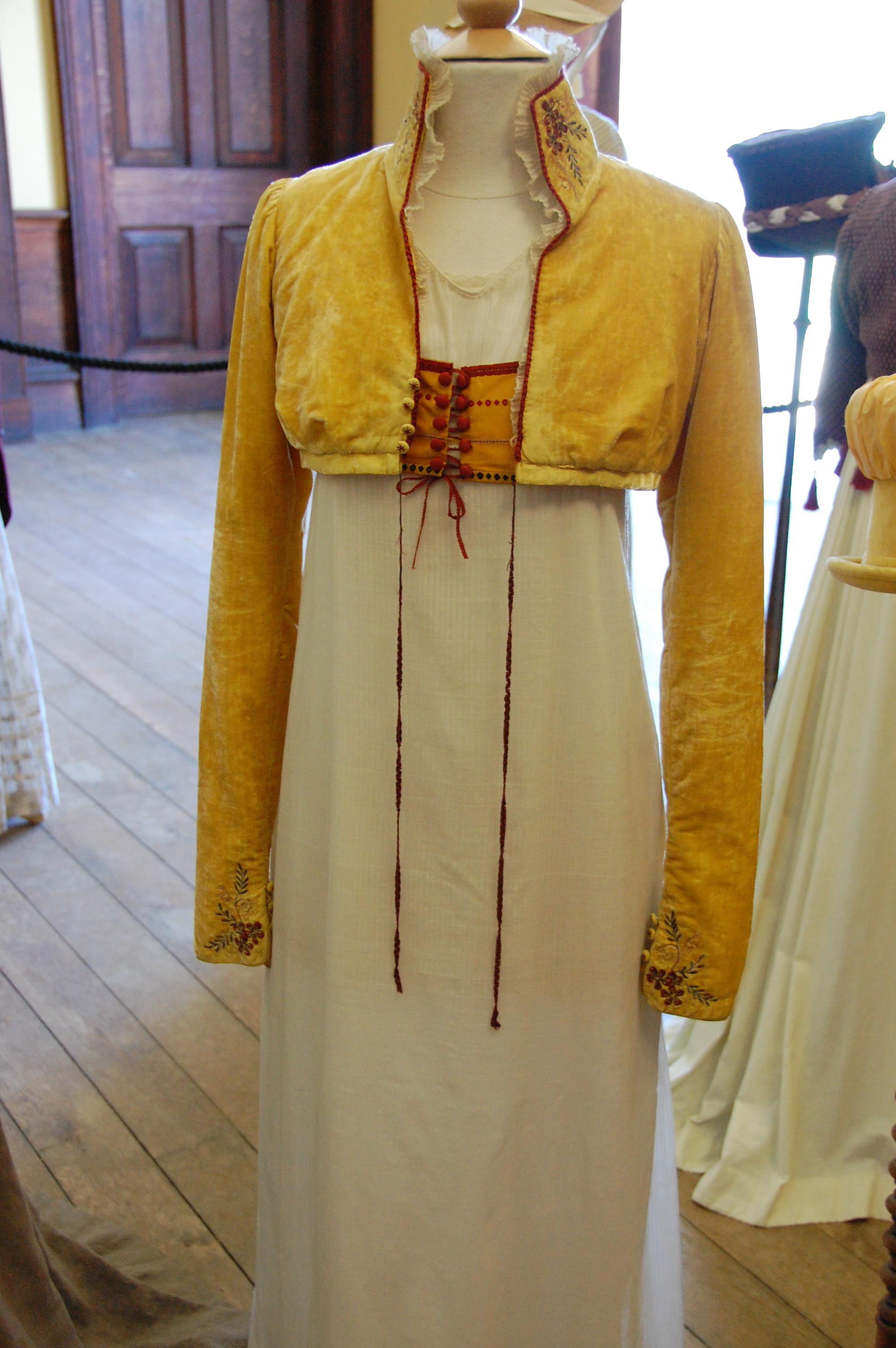 Exposition de costumes austeniens à Belsay Hall Dsc_6508