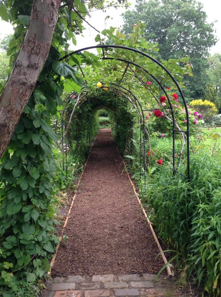 Red House garden