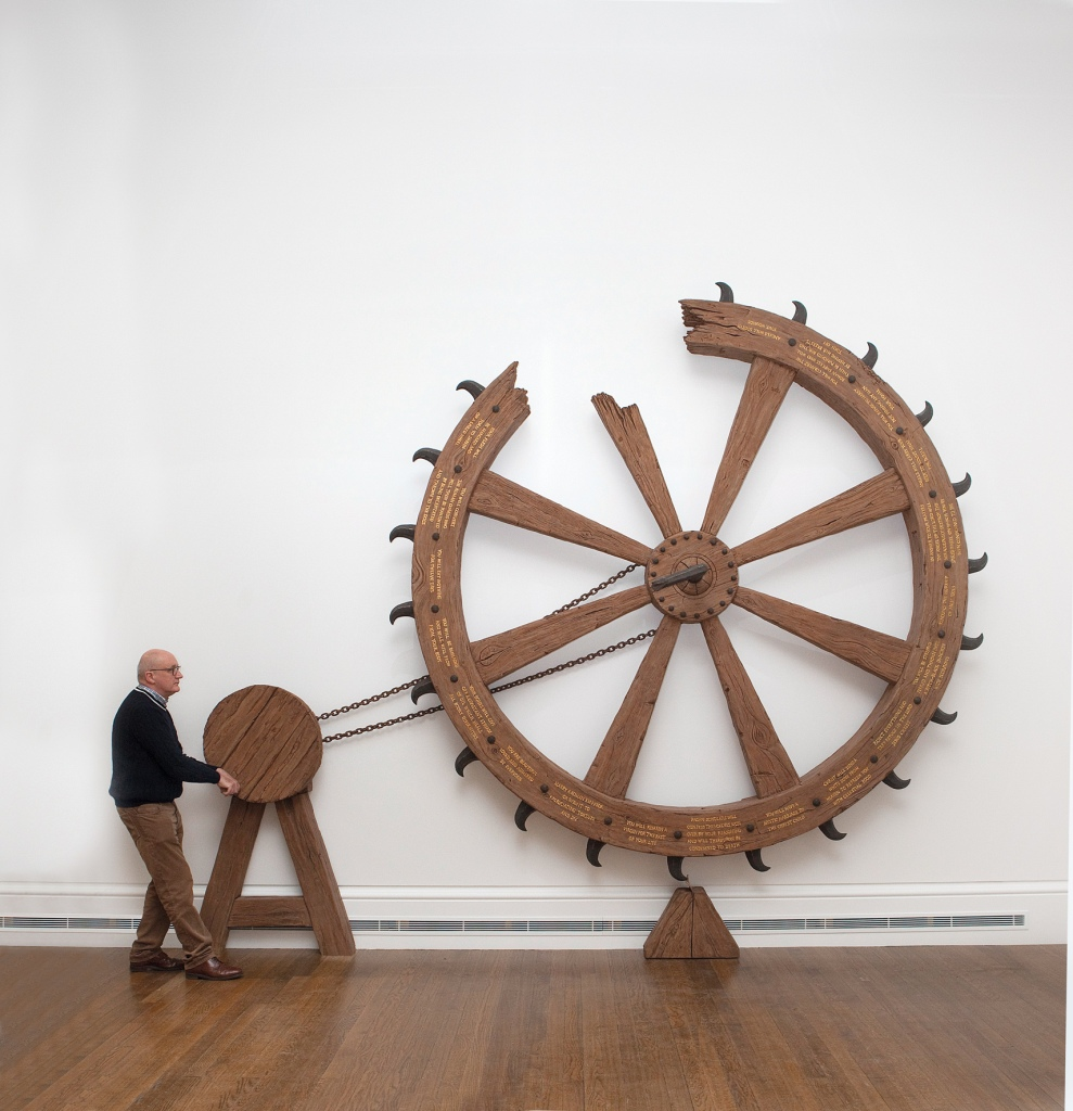 Spin the Saint Catherine Wheel and Win the Crown of Martyrdom c/o Thomas Dane Gallery, London