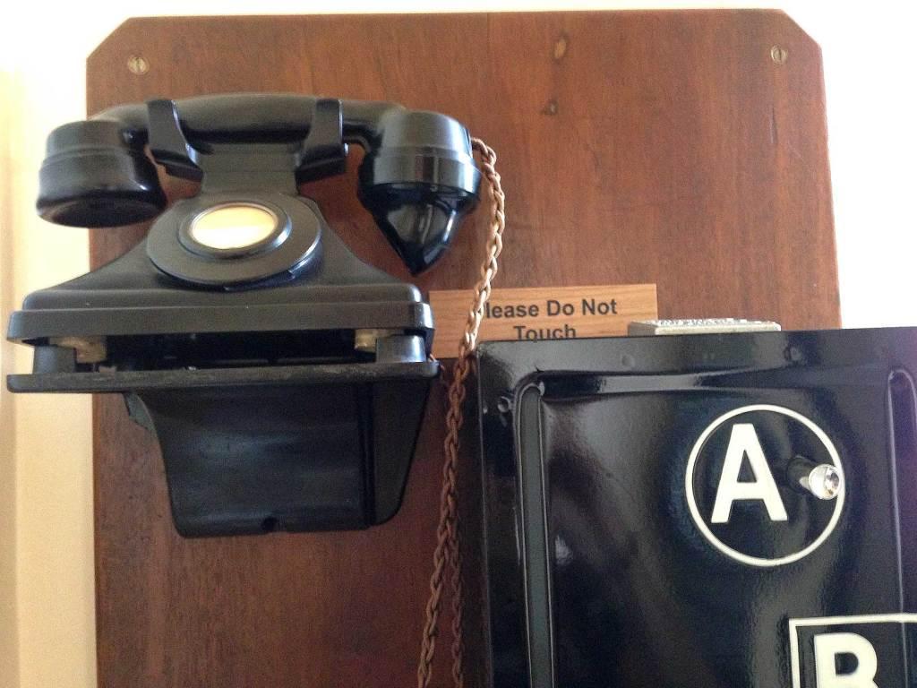 Eltham Palace old phone
