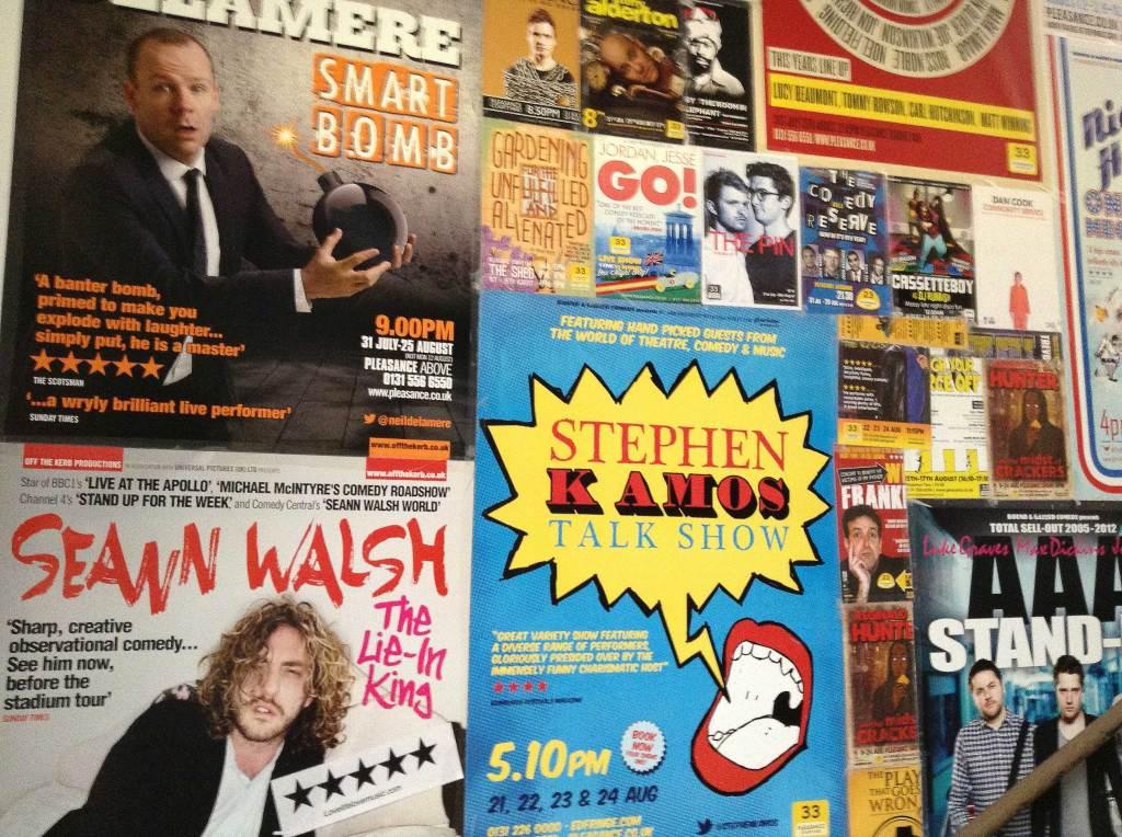 Edinburgh Festival posters