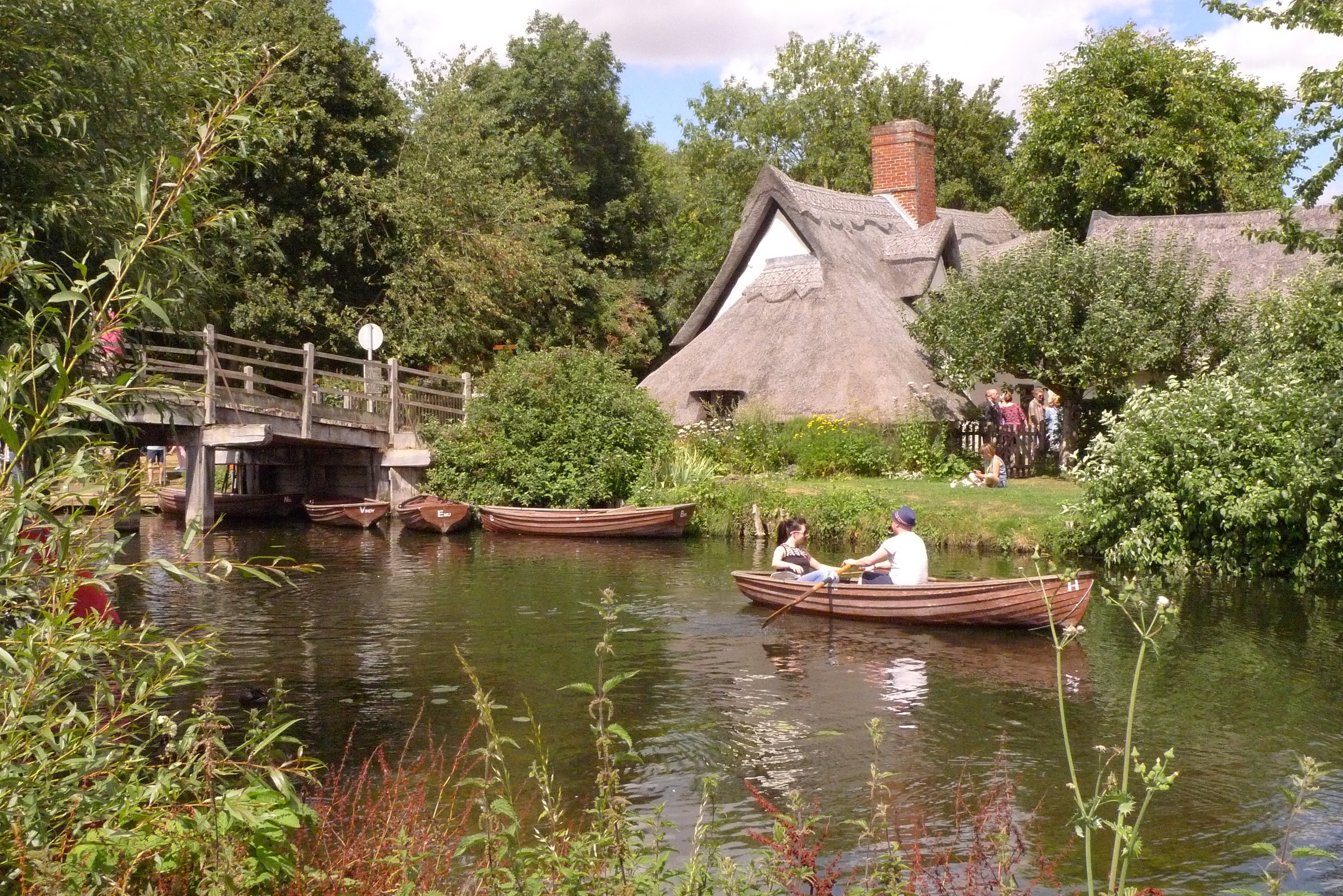 Flatford mill constable s great english landscape for Find a landscaper