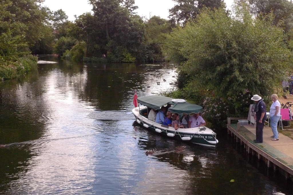 Boating at Dedham Vale