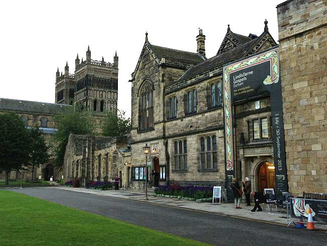 Durham and the Lindisfarne Gospels exhibition