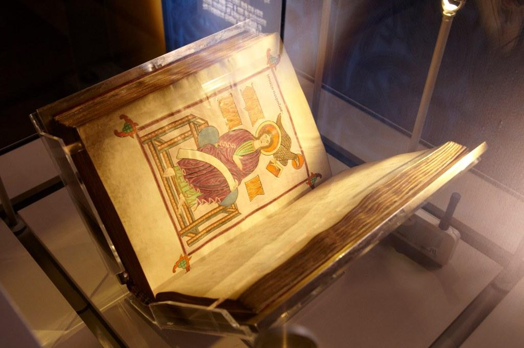 Lindisfarne Gospels c/o PA