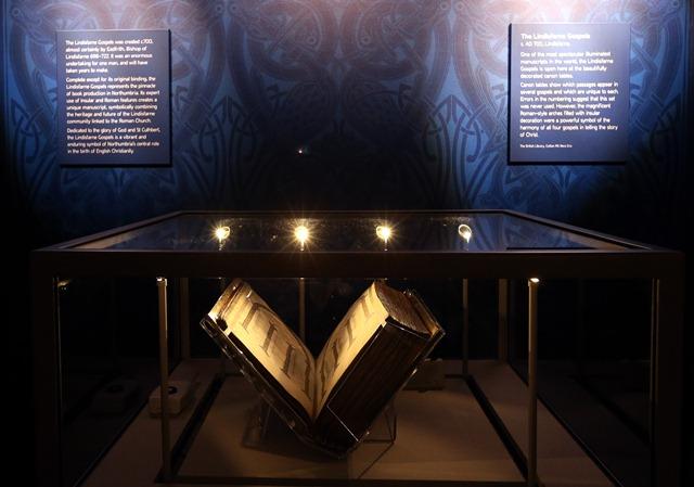 Lindisfarne Gospels c/o Scott Heppell/PA