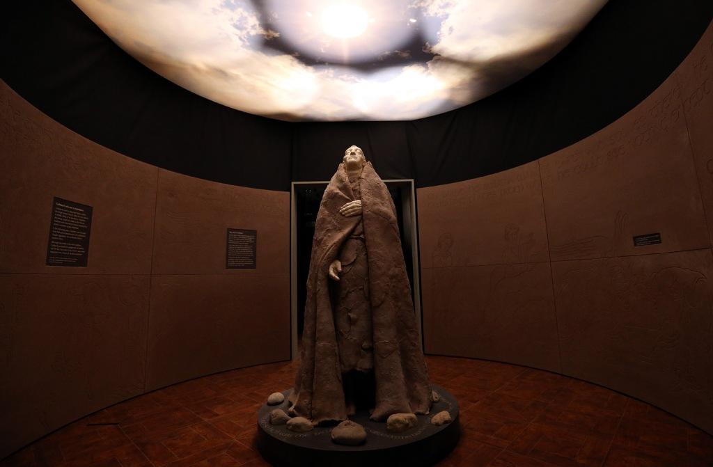 St Cuthbert statue Scott Heppell/PA